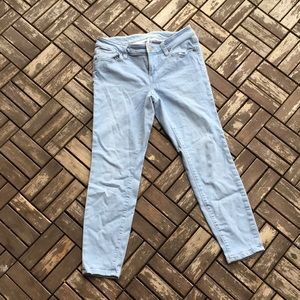 Ann Taylor LOFT Curvy Skinny Ankle Jeans